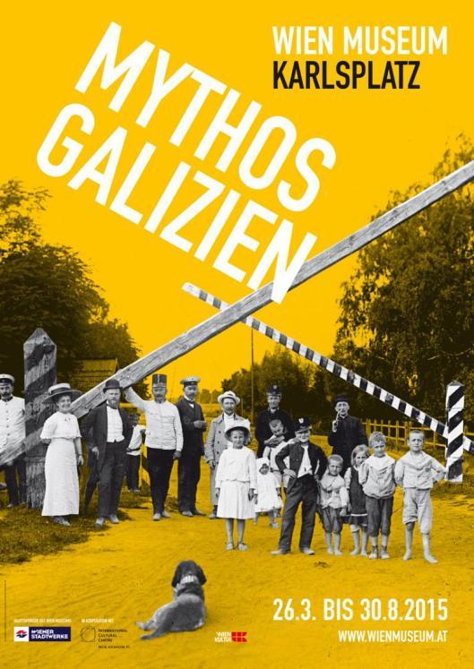 Mythos Galizien exhibition poster Vienna