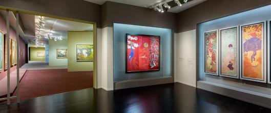 Pierre Bonnard. Peindre l'Arcadie exhibition view Orsay