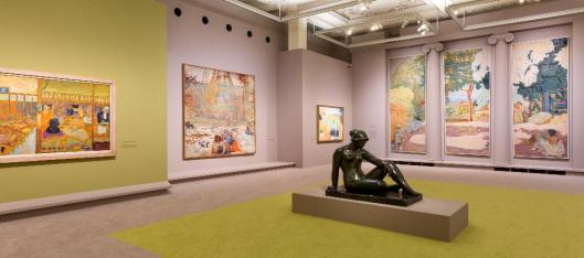Pierre Bonnard Peindre l'Arcadie exhibition view Paris