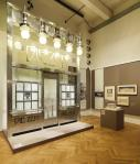 Ways to Modernism exhibition in the front Otto Wagner Façade reconstruction of the Die Zeit dispatch office, 1902