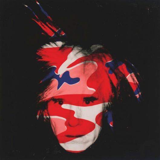 Andy Warhol Self Portrait C 1986