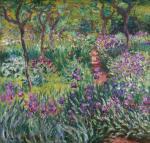 Claude Monet Artist's Garden in Giverny 1900 Yale University Art Gallery