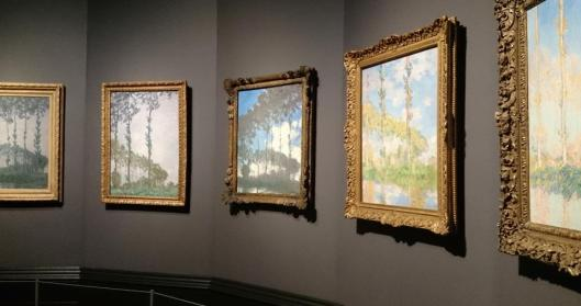 Inventing Impressionism Paul Durand-Ruel and the Modern Art Market exhibition NGL London Monet Poplars artdone
