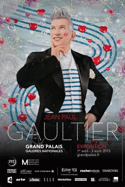 Jean Paul Gaultier Grand Palais Paris poster