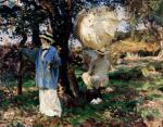 John Singer Sargent The Sketchers Mary Foote and Wilfrid de Glehn 1913 Virginia Museum of Fine Arts Richmond