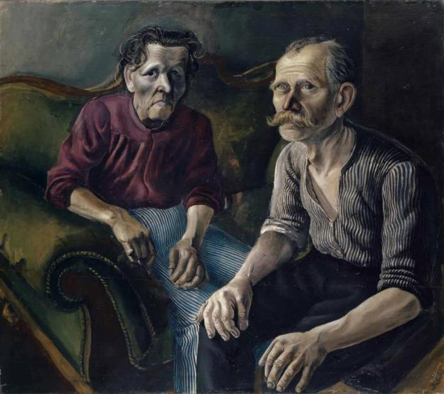 The Parents by Otto Dix (1921)