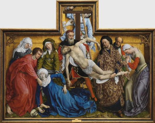 Roger van der Weyden Descent from the Cross before 1443 Prado Madrid