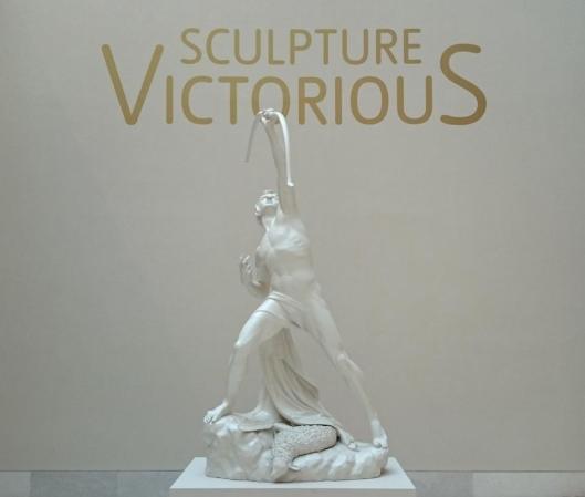 Sculpture Victorious exhibition entrance Tate Britain artdone