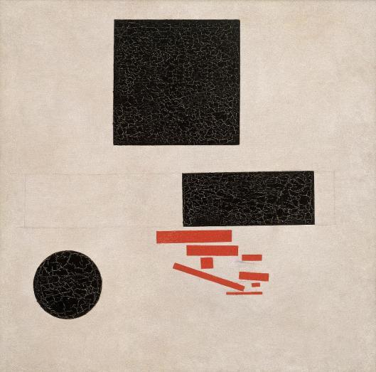 Kazimir Malevich Suprematist Composition 1915 Beyeler Basel