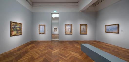 Monet and the Birth of Impressionism exhibition view Städel Museum Frankfurt am Main