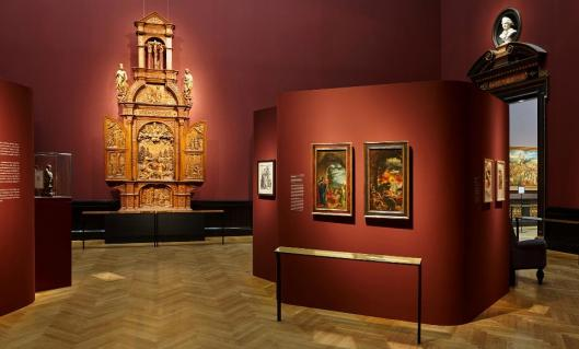 Realms of Imagination. Albrecht Altdorfer and the Expressivity of Art around 1500 exhibition view KHM Vienna