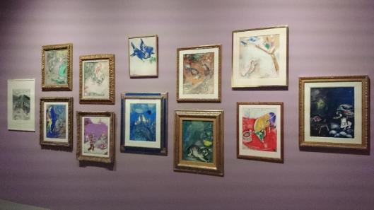 00 Chagall Retrospective exhibition view Koninklijke Musea voor Schone Kunsten van België Brussels artdone