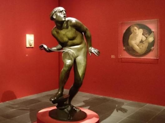 Adolfo Wildt exhibition view Musée de l'Orangerie Paris artdone