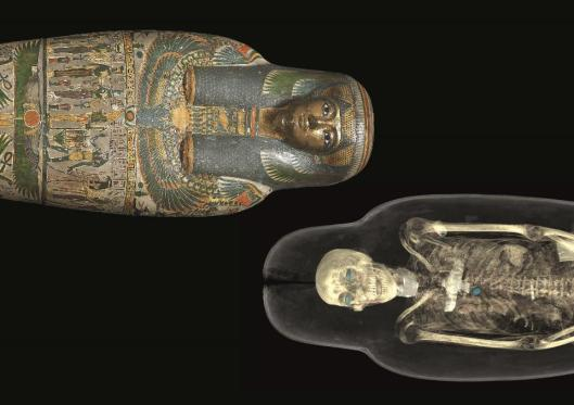 Ancient Lives New Discoveries British Museum exhibition BM London
