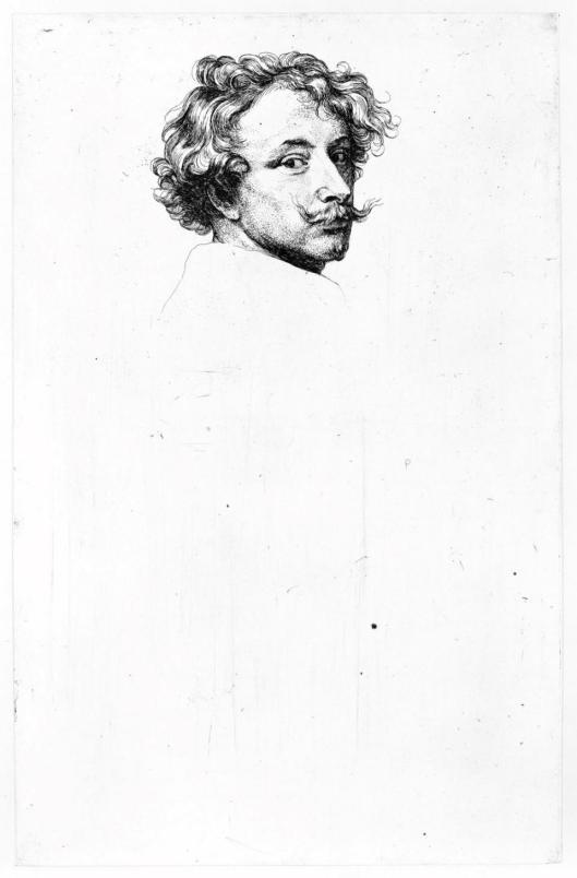 Anton van Dyck Self-Portrait ca 1630
