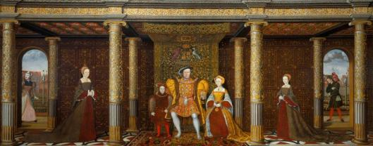 British School The Family of Henry VIII ca 1545 Windsor