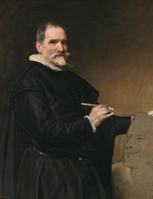 Diego Velázquez Sculptor Juan Martínez Montañés 1635 36 Prado Madrid