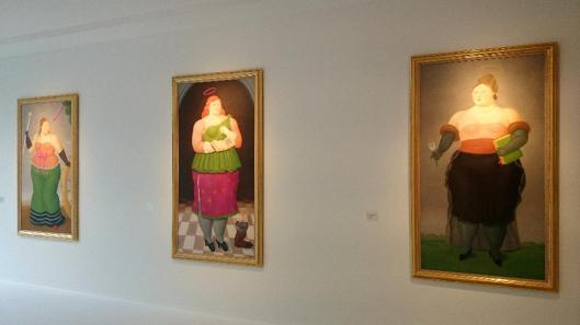 Fernando Botero Santas exhibition Gmurzynska Gallery Zurich 2015