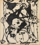 Jackson Pollock Black and White Painting II ca 1951 private collection