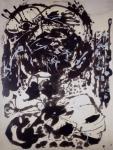 Jackson Pollock Brown and Silver II ca 1951 Kunstmuseum Bern