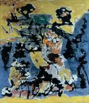 Jackson Pollock Number 12 1952 Governor Nelson A Rockeffeler Empire State Plaza Art Collection