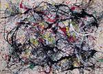 Jackson Pollock Number 34 1949 Munson-Williams-Proctor Arts Institute Museum of Art Utica New York