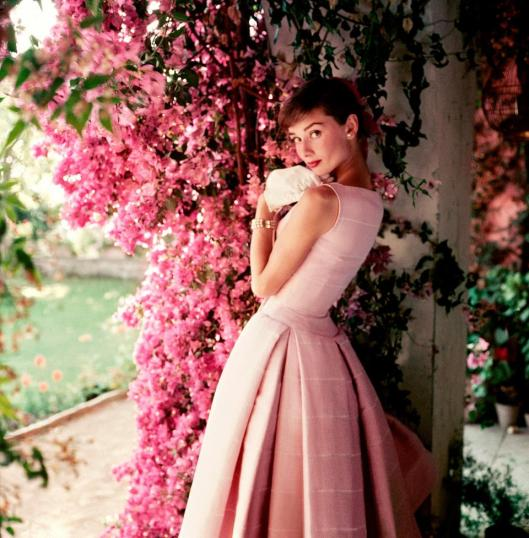 Norman Parkinson Audrey Hepburn wearing Givenchy 1955
