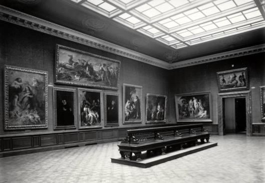 Rubens Room Kaiser-Friedrich-Museum Berlin 1926
