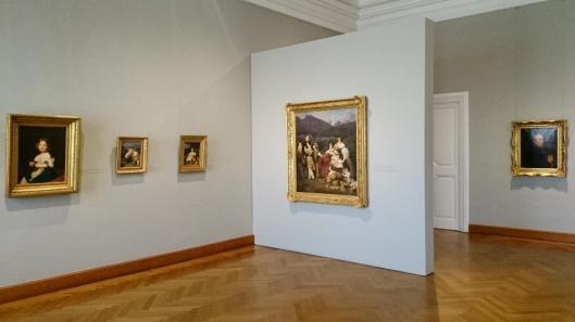A Homage to Ferdinand Georg Waldmüller exhibition view Belvedere Vienna artdone