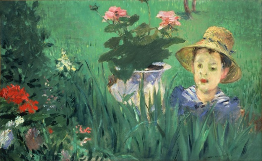 Édouard Manet Boy in Flowers Jacques Hoschedé 1876 National Museum of Western Art Tokyo