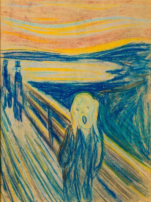 Edvard Munch The Scream 1893 1910 Munch Museum Oslo