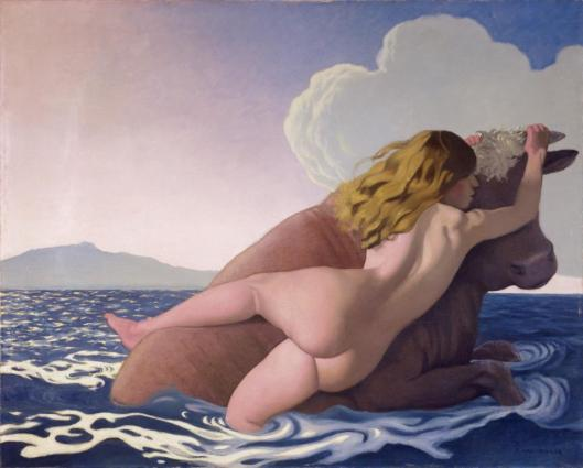 Félix Vallotton The Rape of Europa 1908 Kunstmuseum Bern