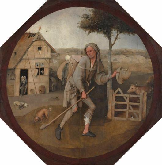 Hieronymus Bosch The Pedlar ca 1500 Museum Boijmans Van Beuningen Rotterdam