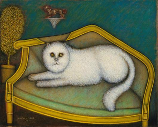 Morris Hirshfield Angora Cat 1937 39 Museum of Modern Art New York MoMA
