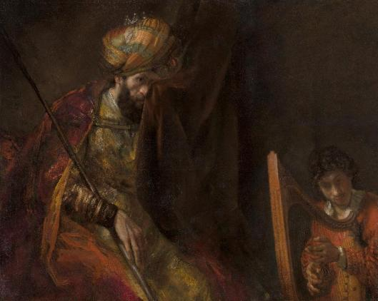 Rembrandt van Rijn Saul and David ca 1651 54 and ca 1655 58 Mauritshuis the Hague