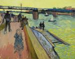 Vincent van Gogh The Bridge at Trinquetaille 1888 private collection