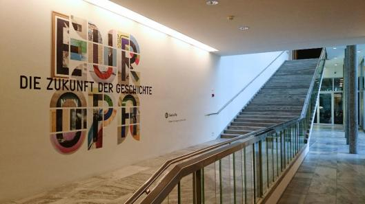 00 Europe The Future of History exhibition entrance Kunsthaus Zurich artdone
