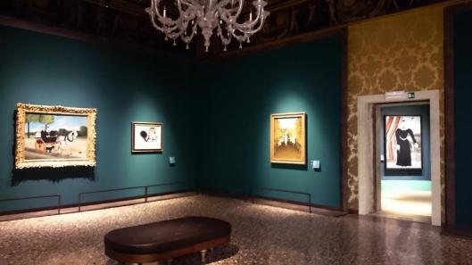Henri Rousseau exhibition view Palazzo Ducale Venice artdone