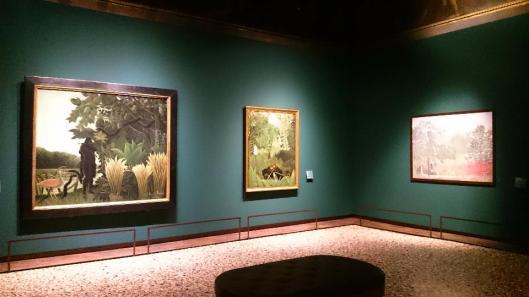 Henri Rousseau Il candore arcaico exhibition view Palazzo Ducale Venice artdone