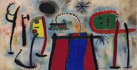 Joan Miró Peinture 1953 Solomon R. Guggenheim Museum New York