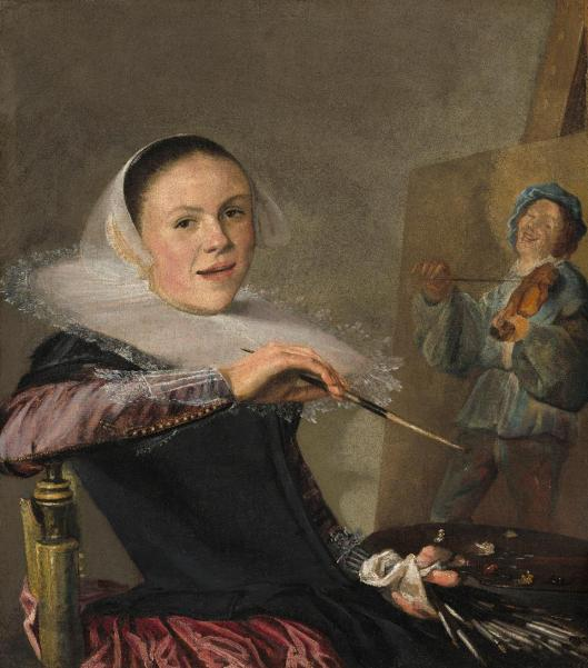 Judith Leyster Self-Portrait ca 1640 National Gallery of Art Washington NGA