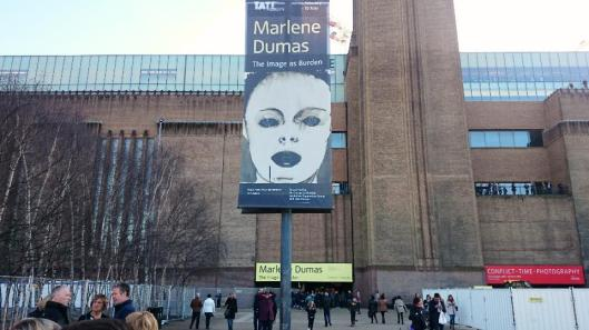 Marlene Dumas The Image as Burden exhibition Tate Modern London artdone
