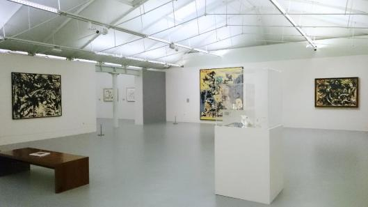00 Jackson Pollock Blind Spots  exhibition view Tate Liverpool artdone