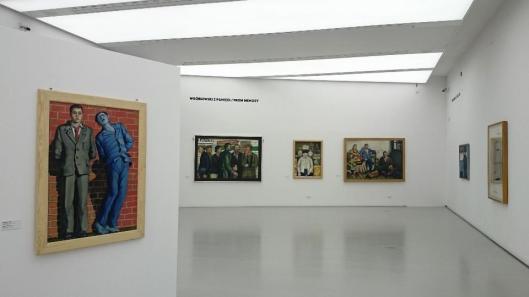00 Wróblewski według Wajdy Wróblewski according to Wajda exhibition view manggha Krakow artdone