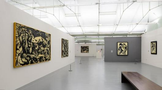 06 Jackson Pollock Blind Spots exhibition view Tate Liverpool
