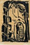 Andrzej Wajda Kościół św. Jakuba 1948 Książnica Pomorska im. Stanisława Staszica w Szczecinie