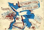 Kazimierz Podsadecki Trzymamy straż u ujścia Odry 1946 projekt Książnica Pomorska im. Stanisława Staszica w Szczecinie