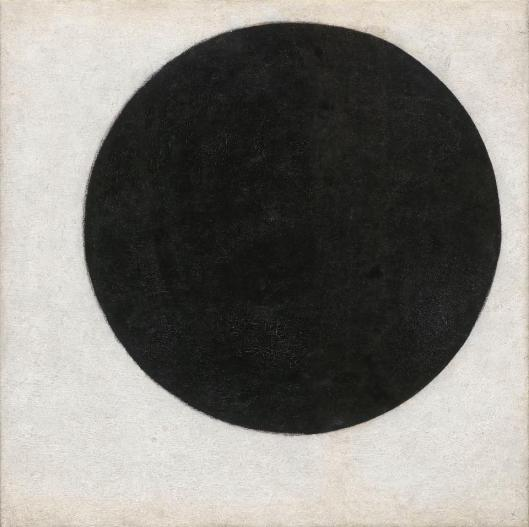 Kazimir Malevich Plane in Rotation called Black Circle 1915 priv coll'