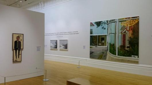 Reality Modern and Contemporary British Painting exhibition view Liverpool artdone