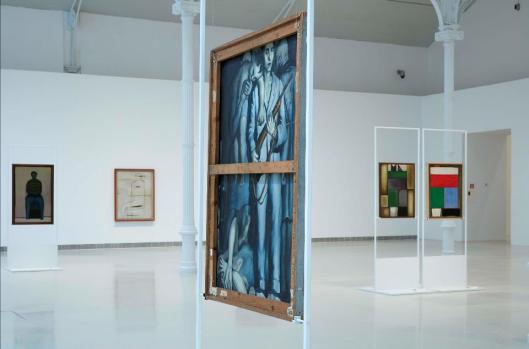 Andrzej Wróblewski Verso reverso exhibition view Museo Nacional Centro de Arte Reina Sofía Palacio de Velázquz Madrid